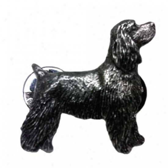 Cocker Spaniel Pewter Shut up