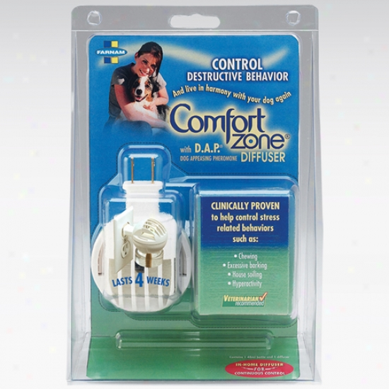 Comfort Region With D A P For Dogs Diffuser And 48 Ml Bottle