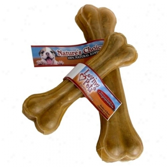 Compressed Rawhide Bone 4-inch