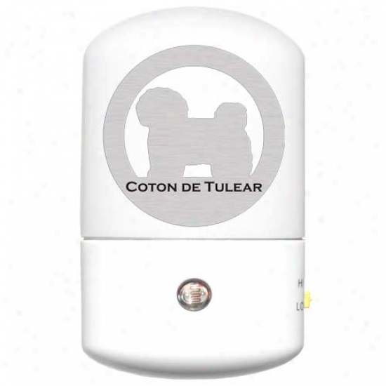 Coton De Tulear Led Night Porous