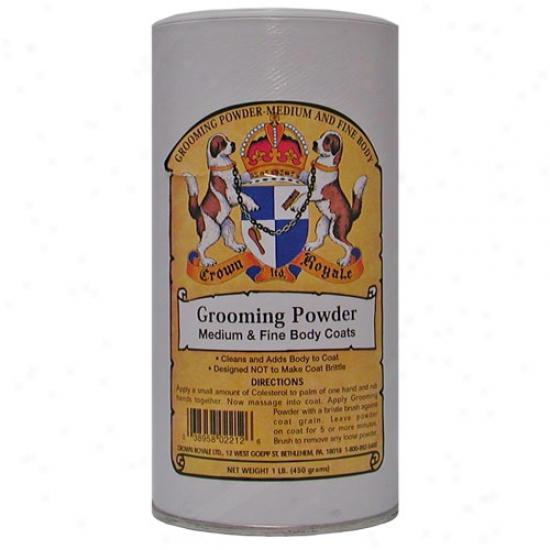 Crown Royale Medium-fine Grooming Powder 1lb