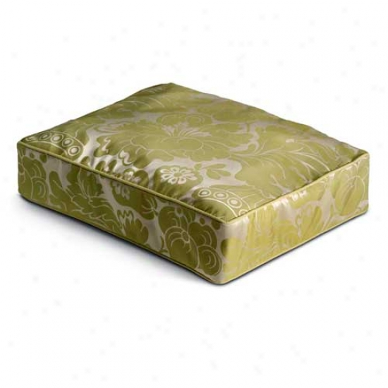 Crypton Meltose Rectangle Dog Bed Large Pear