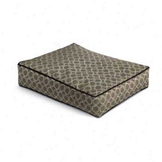 Crypton Outdoor Fade Resistant Dog Bed Small Ringo Newsprint