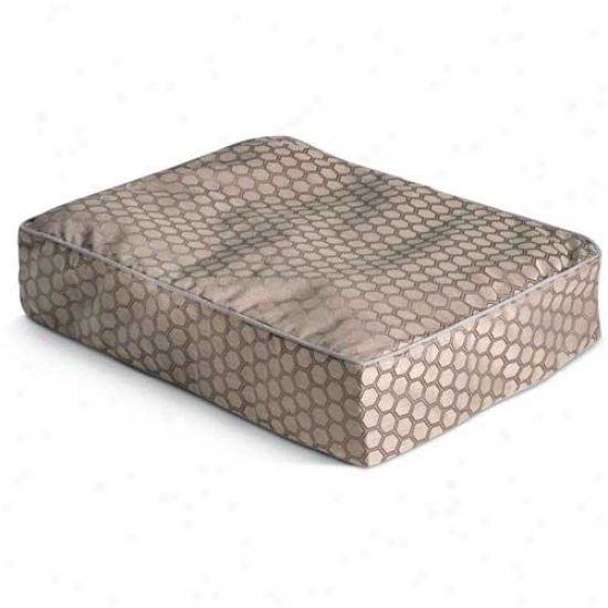 Crrypton Wiltshire Rectangle Dog Bed Small Concrete