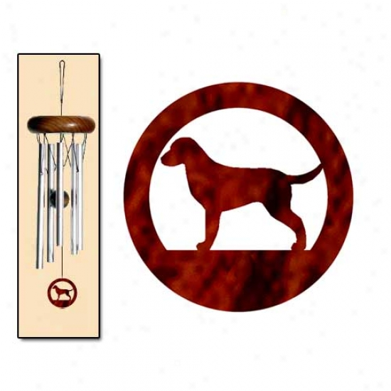Curly Coated Retriever Wind Chimes X-small Gentle