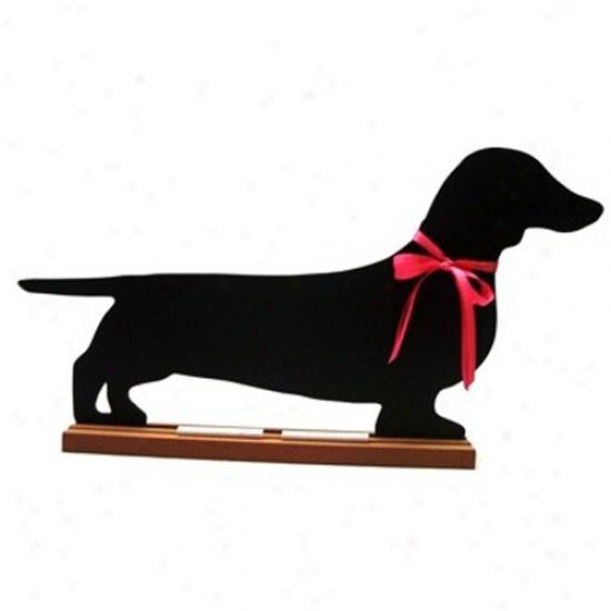 Dachshund (smooth) Blackboard - Table  Model