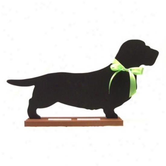 Dachshund (wire-haired) Blackboard - Table  Model