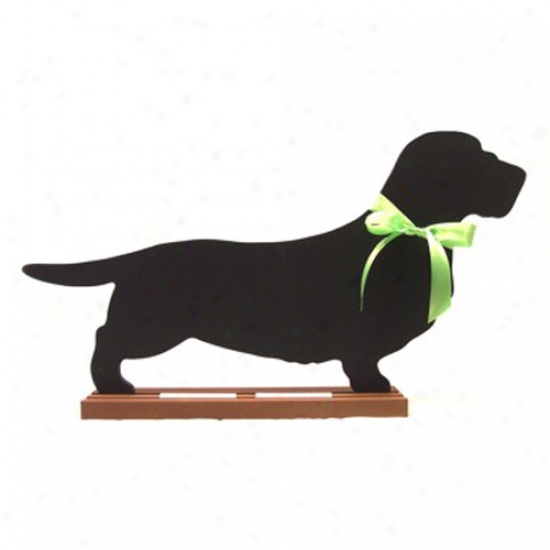 Dachshund (wire-haired) Blackboard - Wall Model