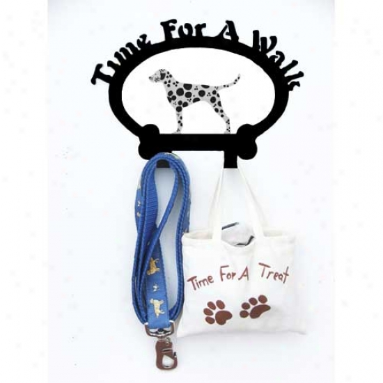 Dalmatian Leash Holder