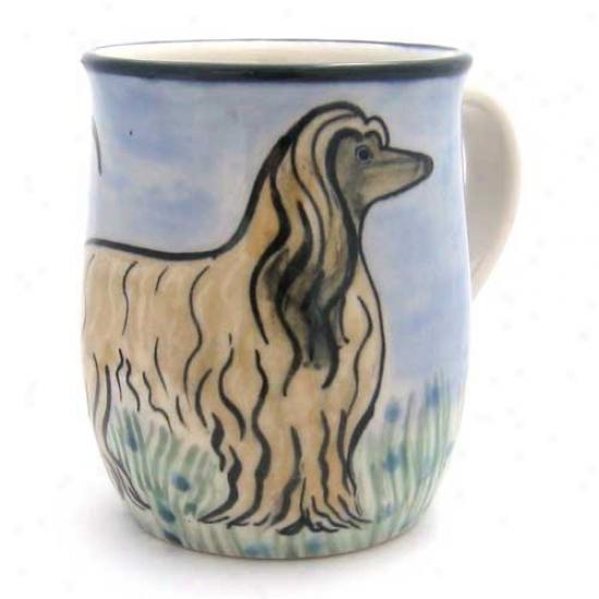 Deluxe Afghan Hound Mug