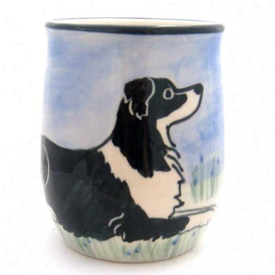 Deluxe Put a ~ upon Collie Mug
