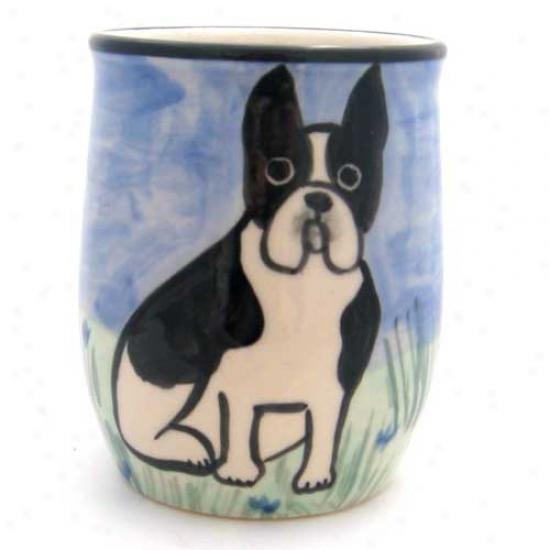 Deluxe Boston Terrier Mug