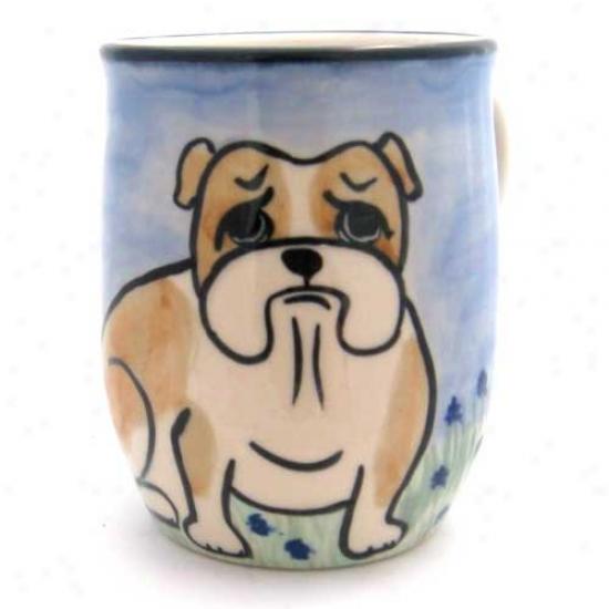 Deluxe Bulldog Mug