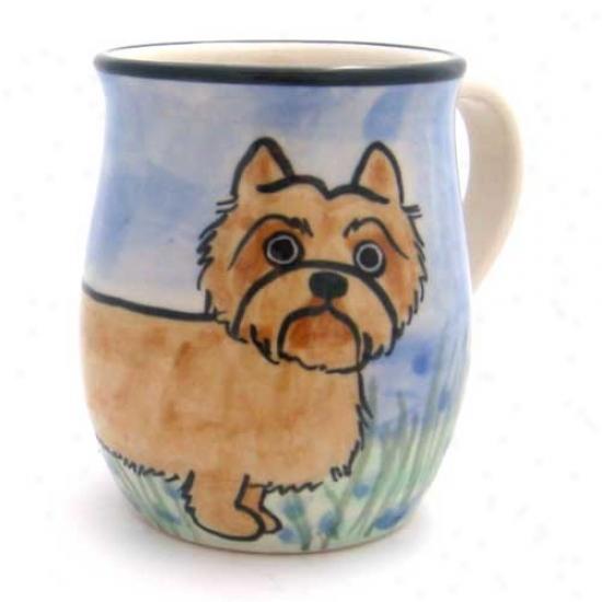 Deluxe Cairn Terrier Mug