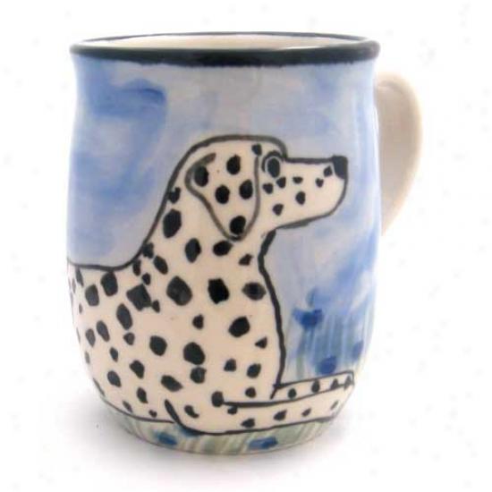 Deluxe Dalmatian Mug