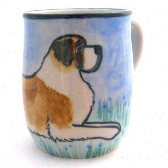 Deluxe Saint Bernard Mug
