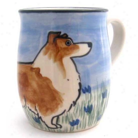 Deluxe Shetland Sheepdog Mug