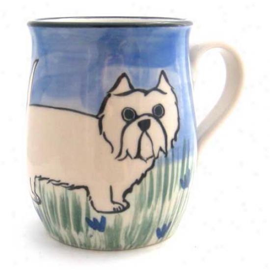 Deluxe West Highland White Terrier Mug