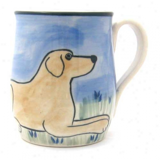Deluxe Yellow Labrador Retrievrr Mug