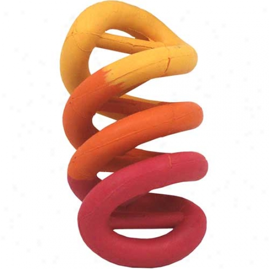 "Dna Natural Rubber Dog Toy, 7"" (colors Vary)"