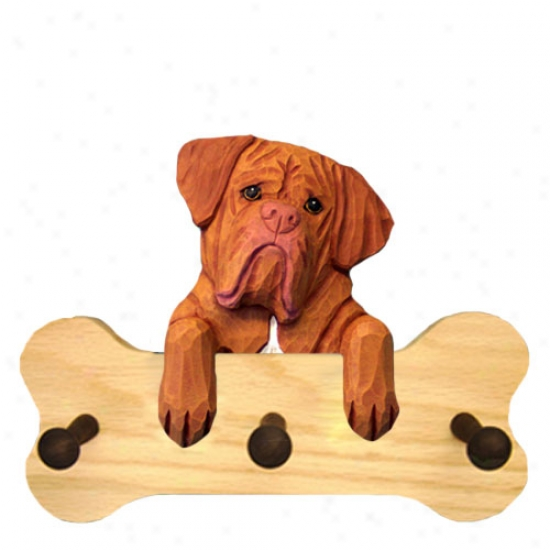 D0gue De Bordeaux Bone Hang Up Essential Oak