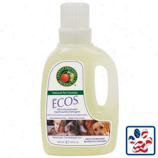 Earth Friendly Evos Pet Laundry Detergent 20oz