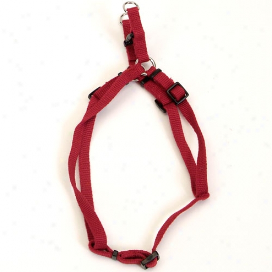 Earth Soy Comfort Wrap Dog Harness 5/8inch X 16-24inch Cranberry
