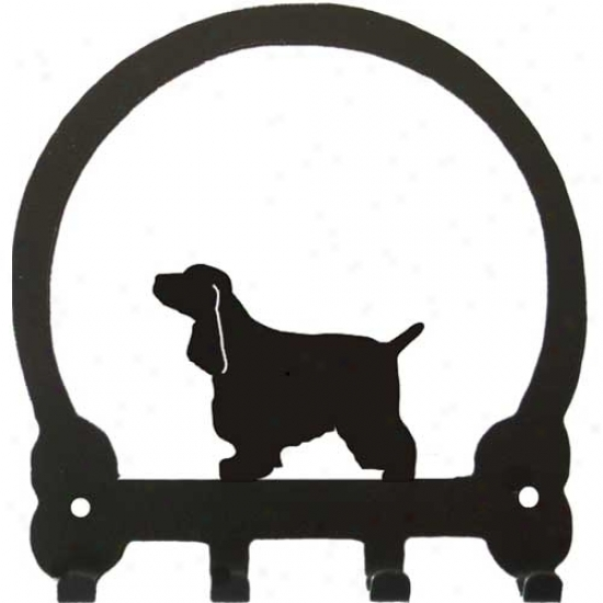 English Cocker Spaniel Key Rack By Sweeney Ridge