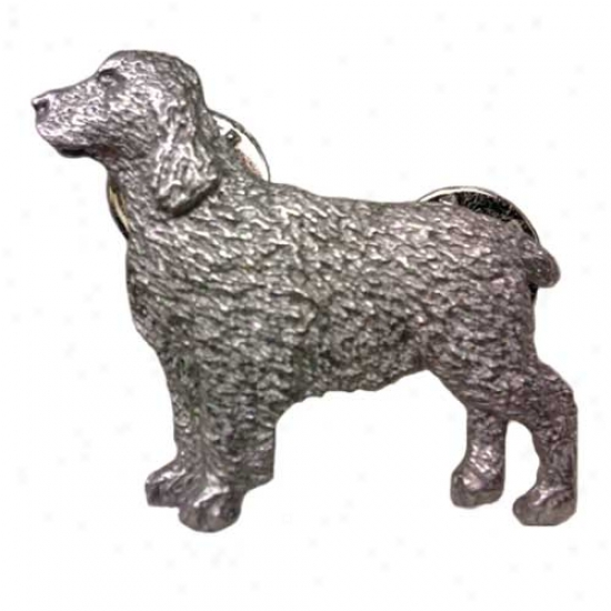English Springer Spaniel Pewter Pin