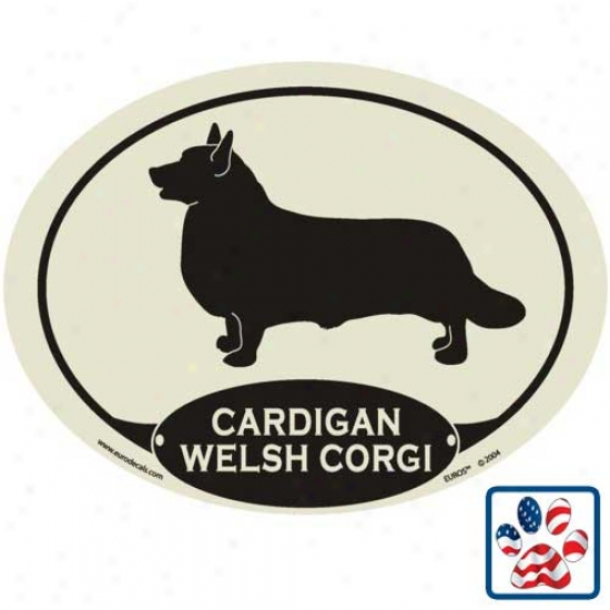 European Style Cardigan Welsh Corgi Ato Decal