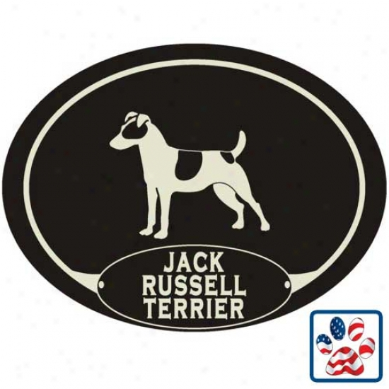 European Style Jack Russell Terrier Auto Decsl