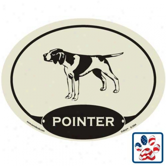 European Style Pointer Auto Decal