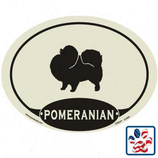 European Style Pomeranlan Auto Decal
