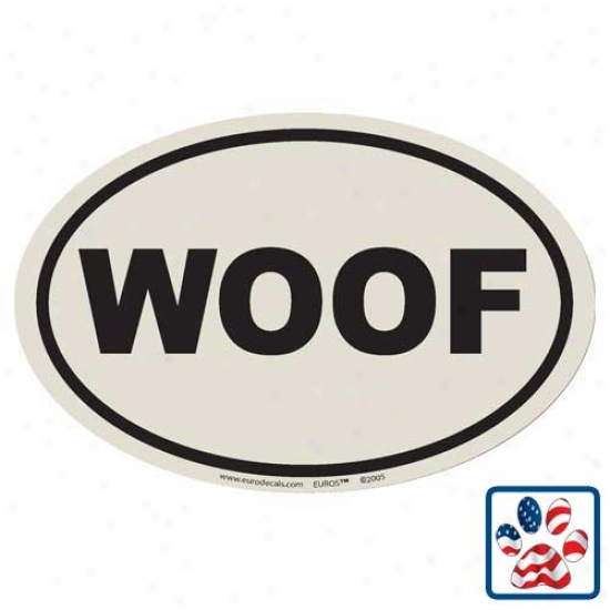 European Style Woof Car Magnet