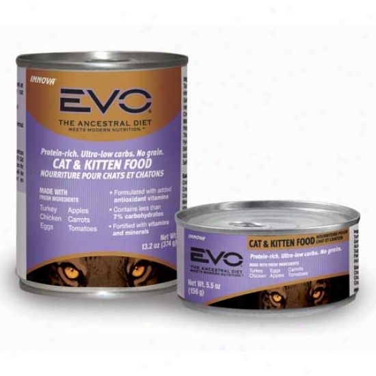 Evo Cat Food 1.2oz Case Of 12 Cans