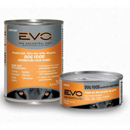 Evo Dog Food Case Of 24 5.5oz Cans