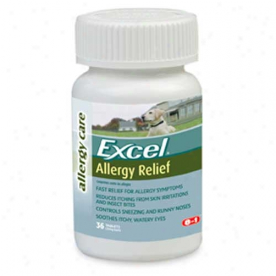 Excel Antihistamihe Allergy Tabs - 36 Tablets