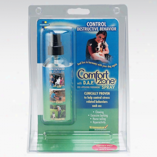 Farnam Comfort Zone With D A P For Dogs Portable Spray 60 Ml