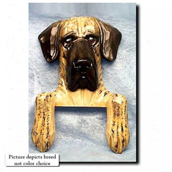 Fawn Natural Great Dane Door Topper