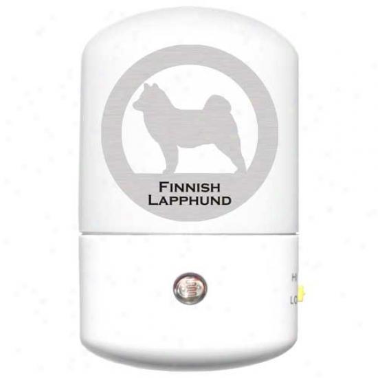 Finniish Lapphund Led Night Light