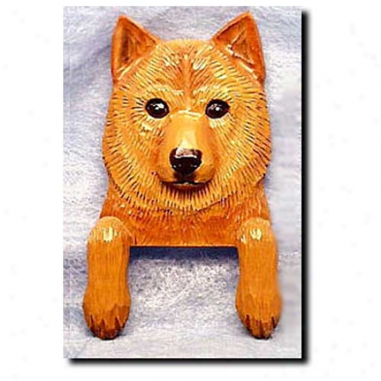 Finnish Spitz Door Topper