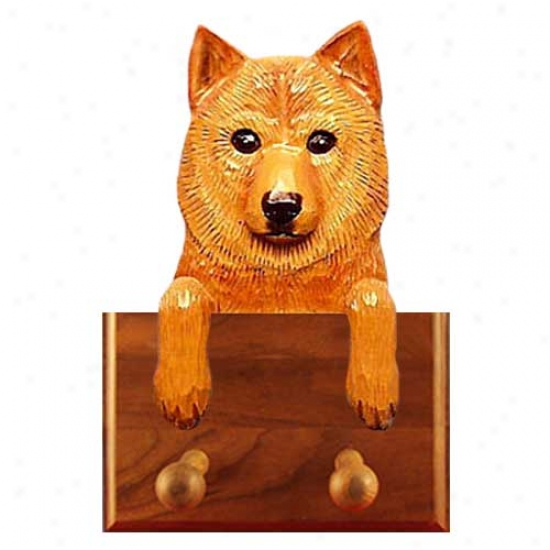 Finnish Spitz Leash Holder