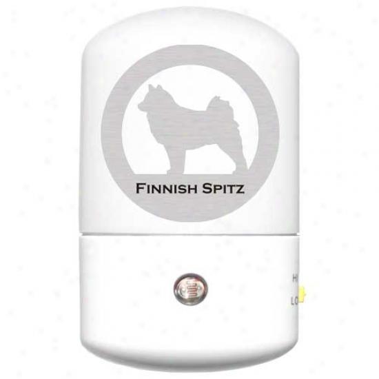 Finnish Spitz Led Night Light