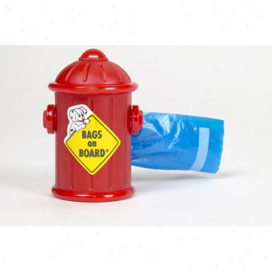 Fire Hydrant Pick-up Bag Dispenser