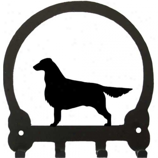Flat Coated Retriever Key Rack By Sweeney Ridge
