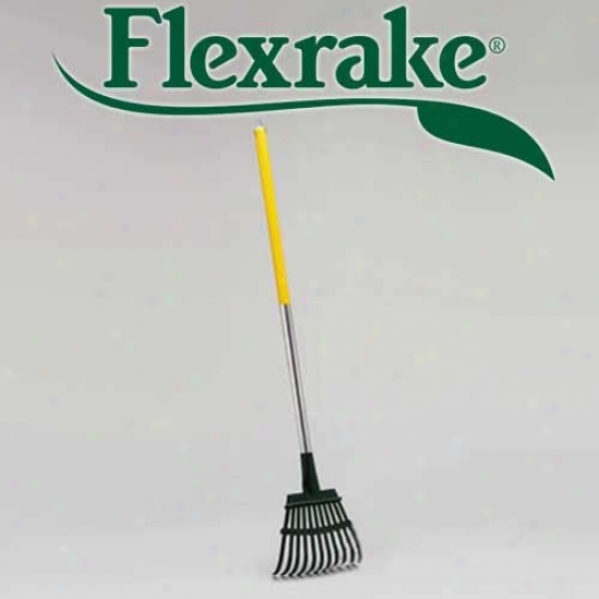 Flexrake Pick Up Rake-individual Rake Only Yellow (8a)