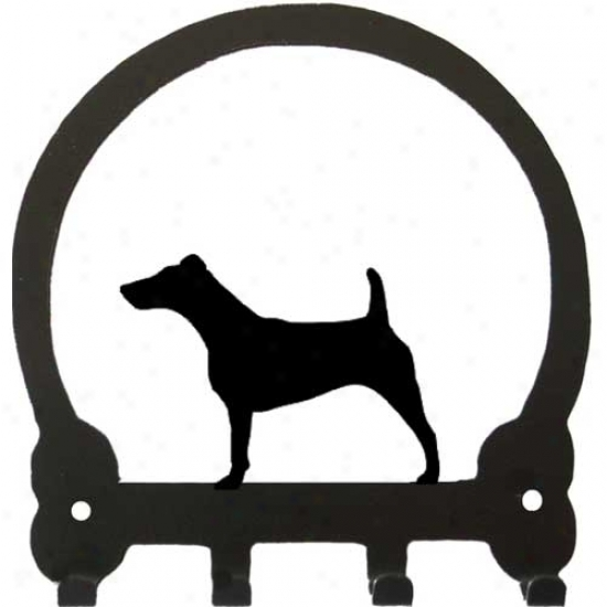 Fox Terrier Key Rack By Sweeney Ridge