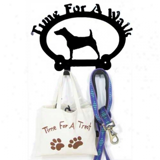 Fox Terrier Leash Holder