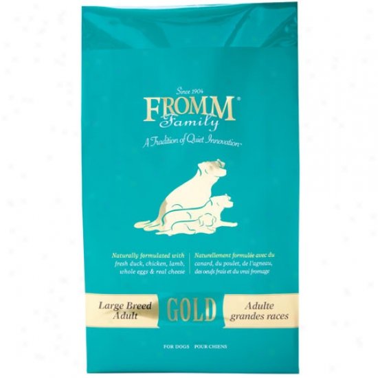 Fromm Gold Nutritionals Large Brreed Adult Dog Forula 15lbs