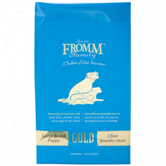 Fromm Gold Nutritionals Large Breed Puppy Formula 33lbs
